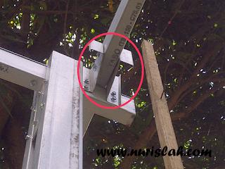 cara sekrup baja ringan membuat kanopi sendiri ~ nur islah