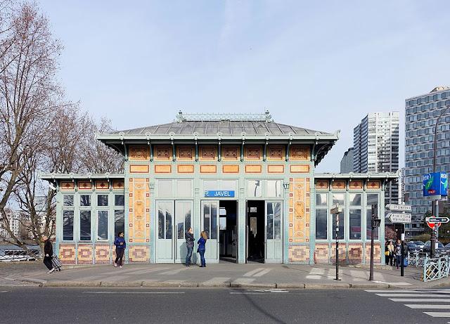 As estações de metrô mais bonitas e diferentes de Paris - Javel - Andre Citroën