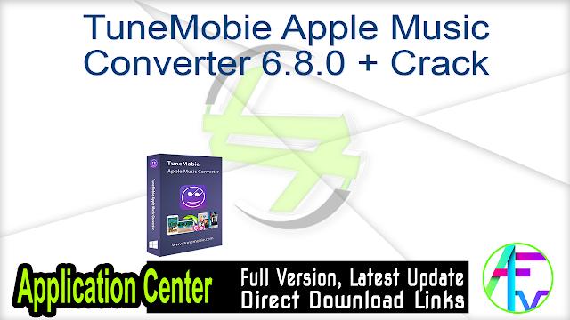 TuneMobie Apple Music Converter 6.8.0 + Crack