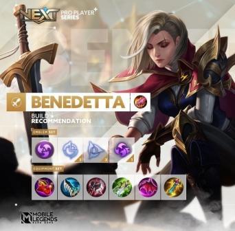 Build Benedetta Tersakit