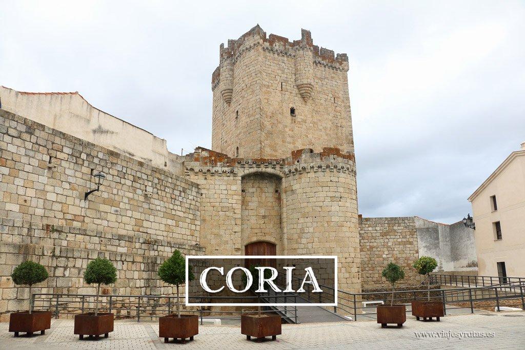 Visita de un día a Coria, Cáceres