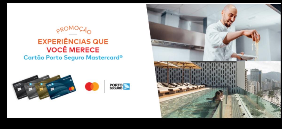 Promoção Cartão Porto Seguro Mastercard 2020 Experiências Que Você Merece