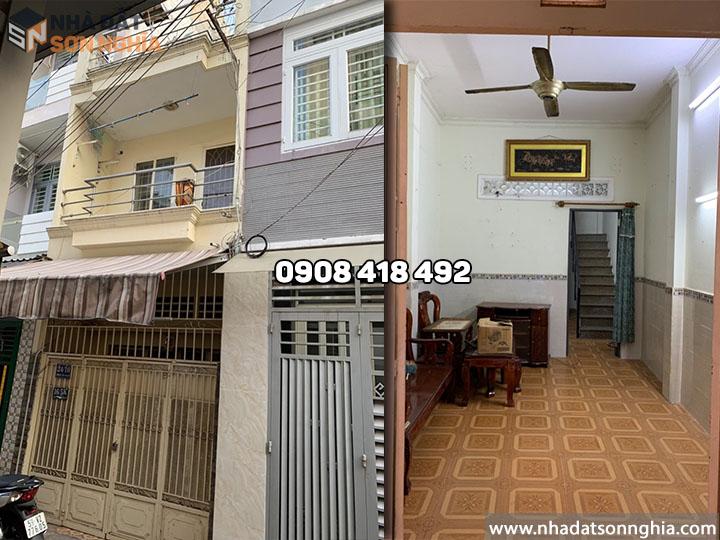 Bán nhà Gò Vấp hẻm 24 đường số 3 phường 9 - 3.3x11m giá 3.4 tỷ (MS074)