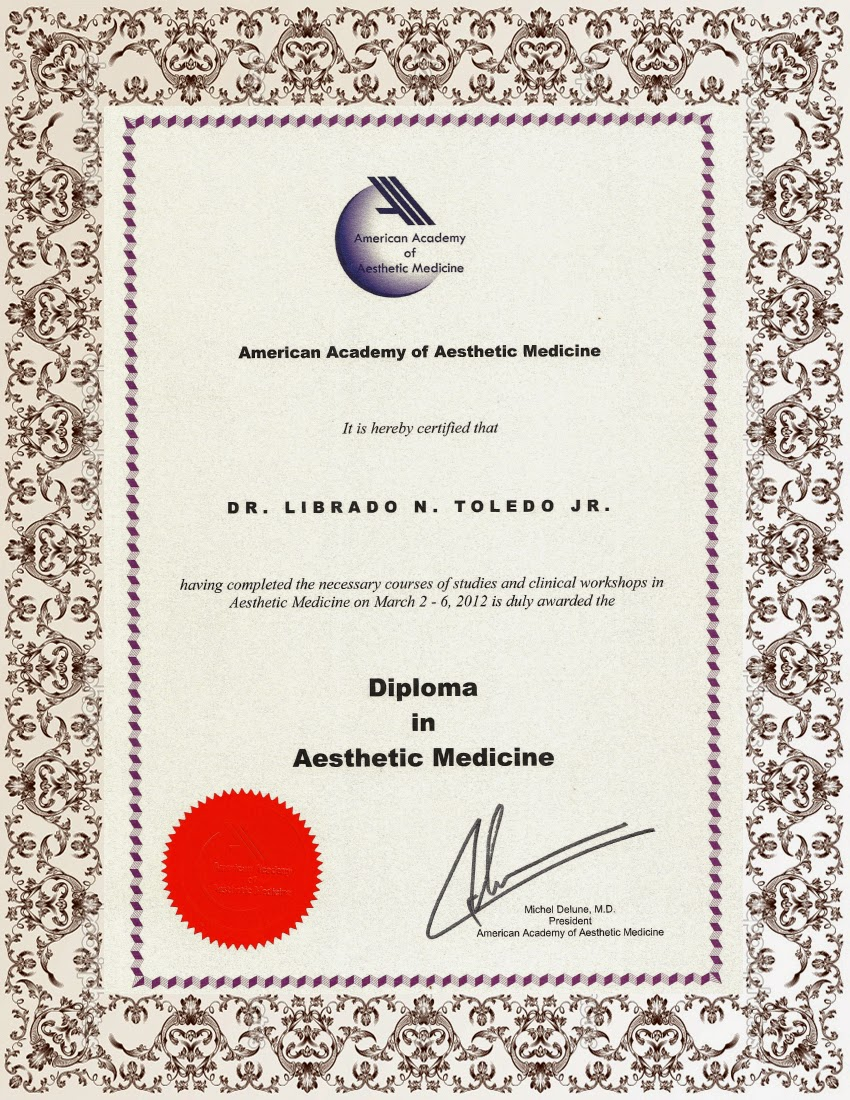 One for all, all for one : Anyone interested in Aesthetic Medicine > ~