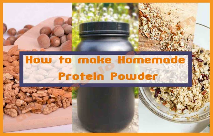 How to make homemade Protein Powder?