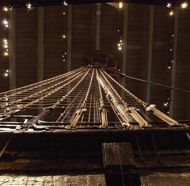 jiemve, Vasa, bâteau, musée, décoration, mât, gréement, hune