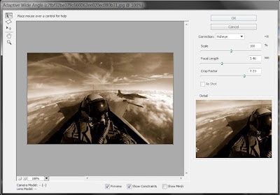 photoshop cs6 new feature : adaptive wide angle tool