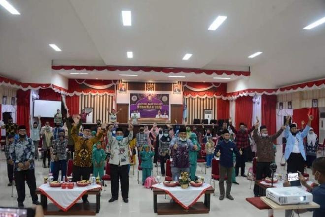 Gubernur Sulsel Buka Festival Anak Sholeh Indonesia 2020 di Wajo