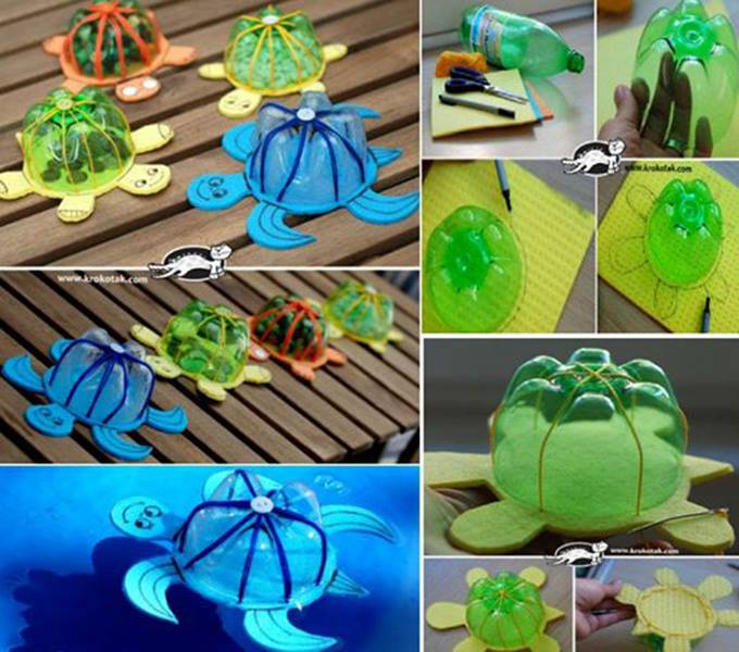 Amazing Creativity: Recycling Idea Of Plastic Bottles