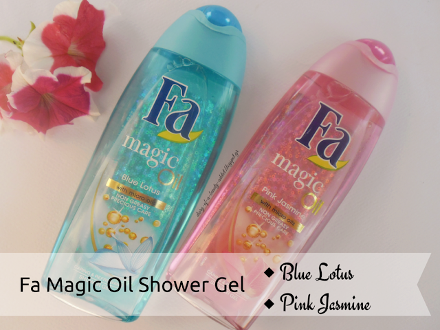 Fa Magic Oil Shower Gel [Blue Lotus & Pink Jasmine]