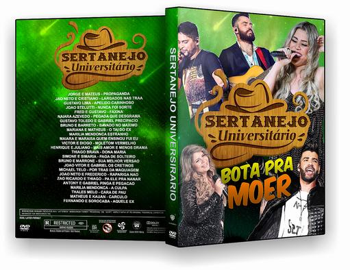 DVD – Sertanejo Universitario Bota Pra Moer 2018 – ISO