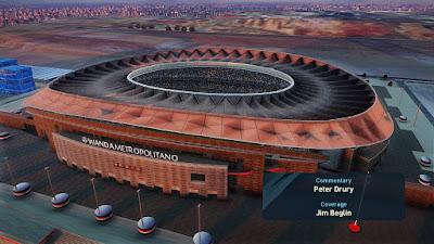 PES 2021 Stadium Wanda Metropolitano + Aerial View