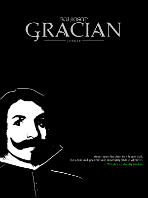 Art Poster - Baltasar Gracian