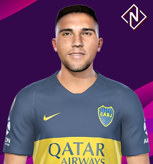 PES 2019 Faces Emanuel Reynoso by Nahue