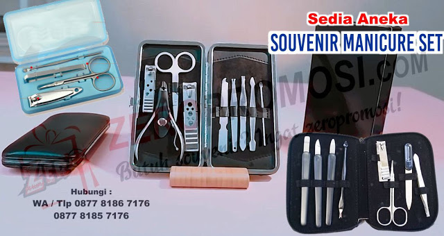 Souvenir meni-pedi, menicure set, gunting kuku set, pedicure set souvenir, souvenir pernikahan manicure set, peralatan meni pedi