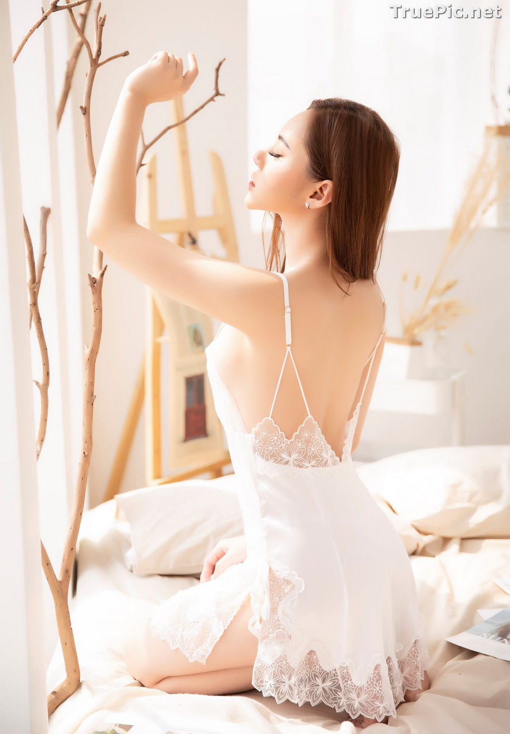 Image Vietnamese Model – Hot Beautiful Girls In White Collection #2 - TruePic.net - Picture-2