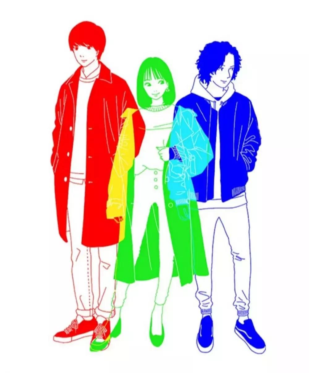 Lirik dan Terjemahan Sangenshoku (Tiga Warna Utama) - Yoasobi