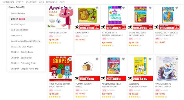 buku anak best seller murah di big bad wolf tokopedia