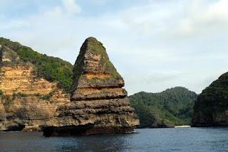 cagar alam pulau nusa barong di jember