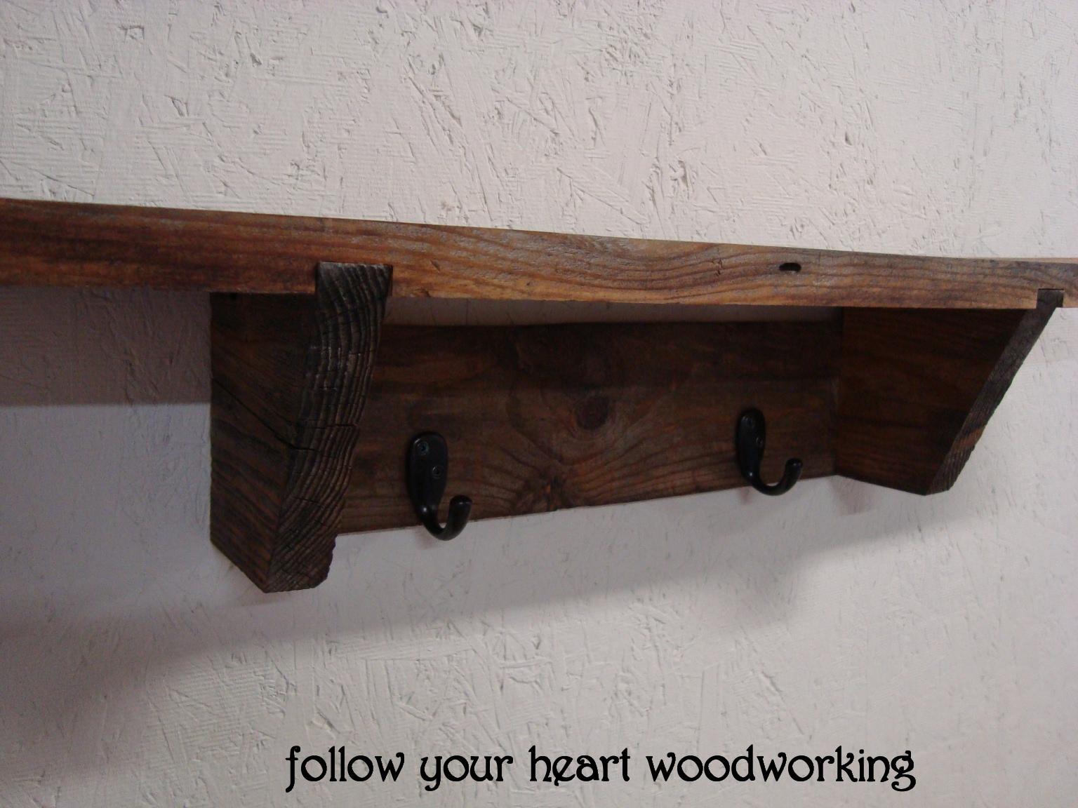 Follow Your Heart Woodworking Barn Board Shelf 2