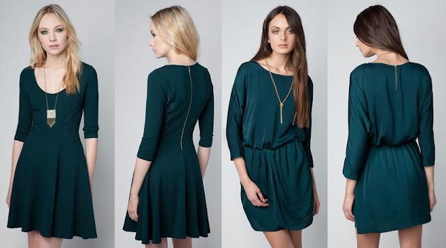 vestidos casuales bershka otoño invierno 2012 2013