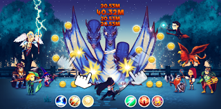 Download Game Taps & Dragons Idle Heroes V1.1.28f MOD Apk ( Unlimited Coins / Diamonds )