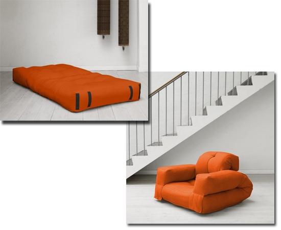 Móveis inteligentes casa-apto pequeno - Sofá Cama inflável