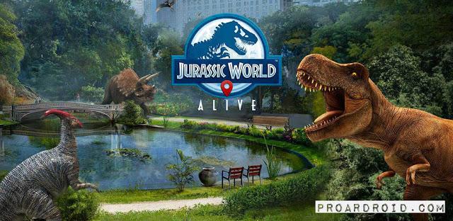 تحميل لعبة Jurassic World Alive v1.9.25 كاملة للأندرويد (اخر اصدار) logo