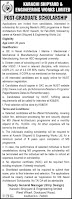 Shipyard and Engineering Works Limited Engineering Posts Karachi 2021