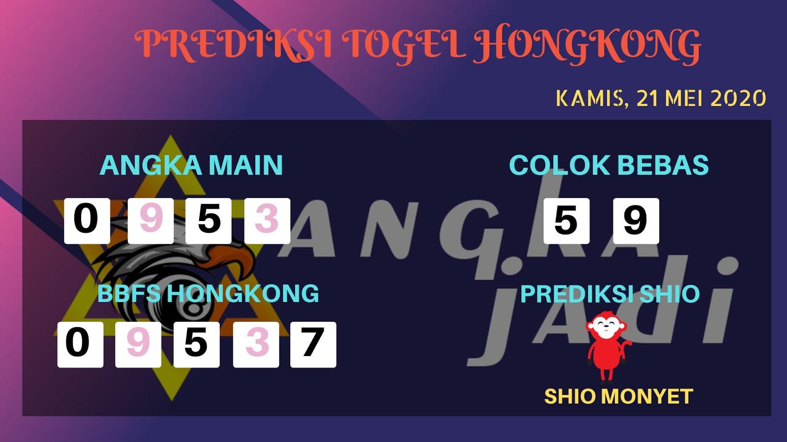 Prediksi Togel Hongkong Kamis 21 Mei 2020 - Bocoran HK