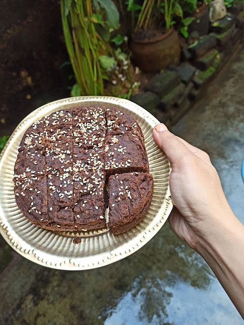 jowar cake with dates
