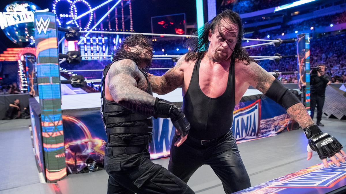 Undertaker admite que não estava em forma para sua luta com Roman Reigns