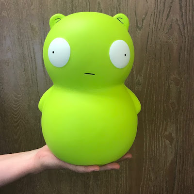 "San Diego Comic-Con 2018 Exclusive Bob's Burgers Kuchi Kopi 10"" Jumbo Squishy by UCC Distributing"