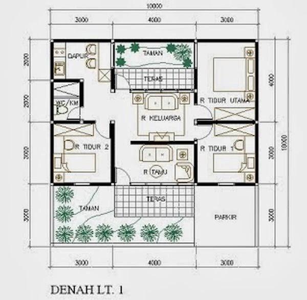 desain rumah minimalis type 45 2