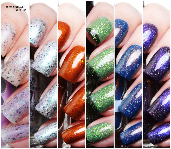 xoxoJen's swatch of October Polish Pick Up: Villains