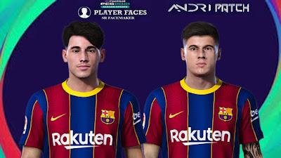 PES 2021 Facepack Barcelona by SR