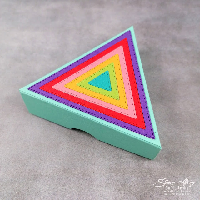Stampin' Up! Stitched Triangle Dies