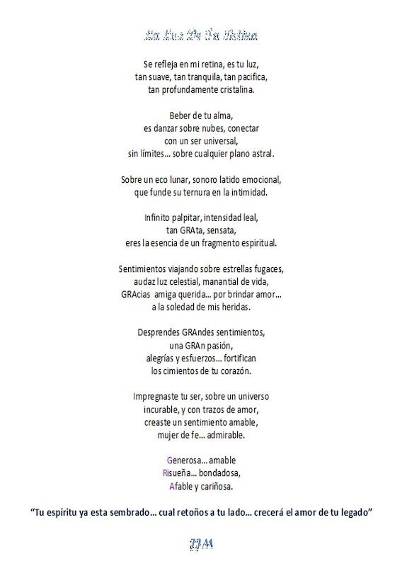 Gracias Jorge M un regalo, hecho poema maravilloso!!!