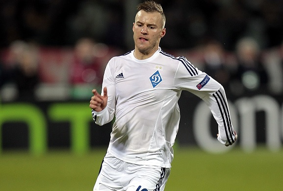 Transfer News - Arsenal eye Andriy Yarmolenko