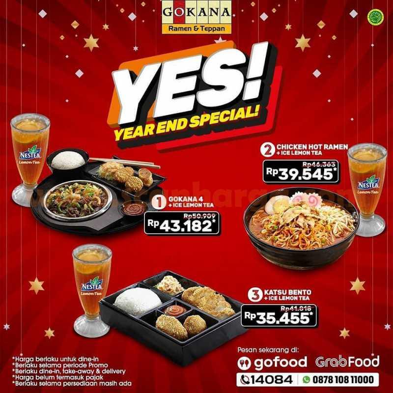 Gokana Paket YES: Promo Year End Special!
