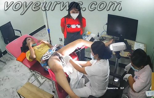Woman secretly filmed during a Gynecological Examination (Gynecologist Examination KH 21-24)