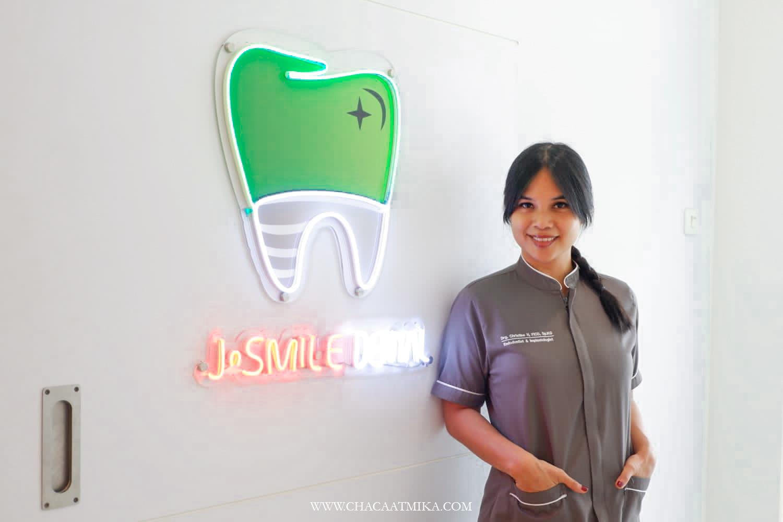 drg. Christine J Smile Dental Patal Senayan