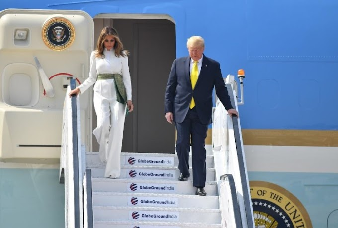 Donold John Trump's Second Day of his Visit to India