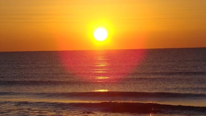 Lindo Papel de Parede Pôr do Sol