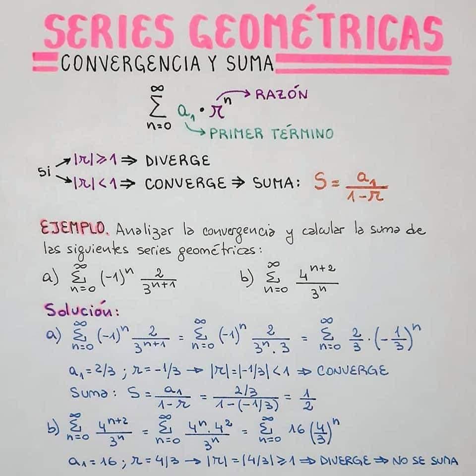 series geometricas