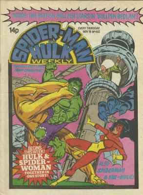 Spider-Man and Hulk Weekly #402