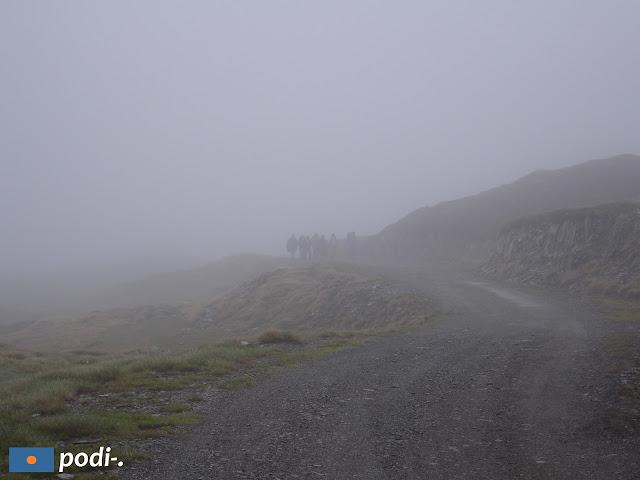 nebbia nella Vall d'Aran