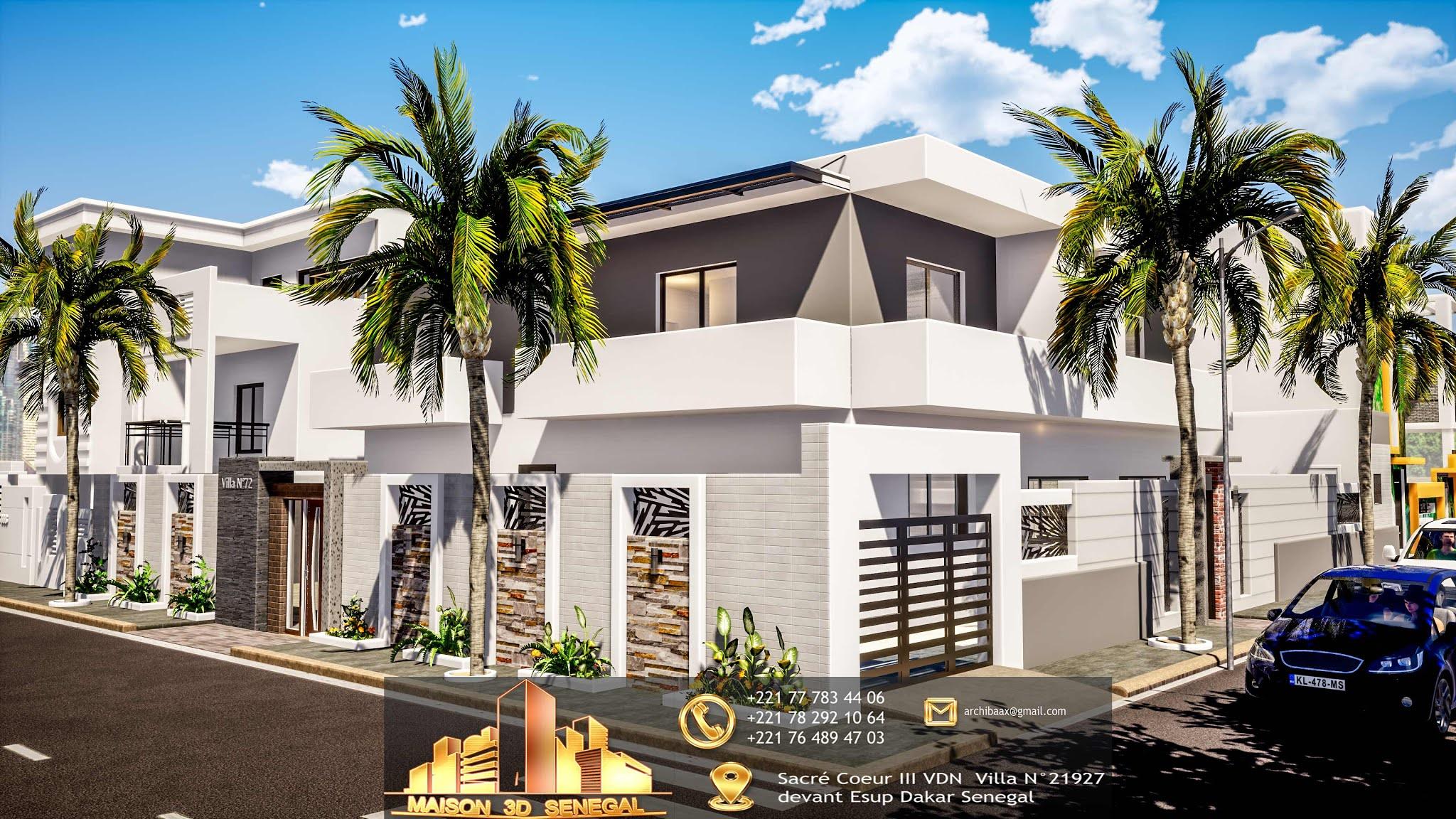 Maison 3d Dakar Senegal In 2020 Maison Design