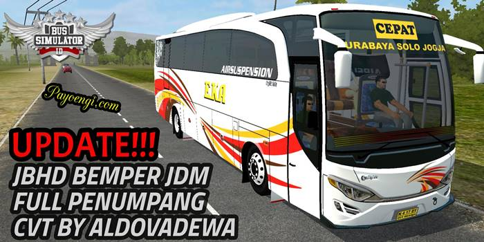 download mod bussid jbhd bemper jdm full penumpang cvt by aldovadewa