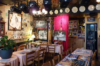 Restaurante La Charette, Romans-sur-Isère.
